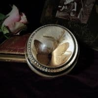 Butterfly Bubble Glass Paperweight